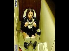 Japanese water-closet voyeur