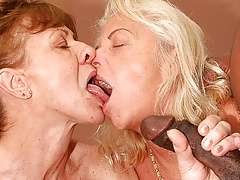 heavy blarney interracial anal granny orgy